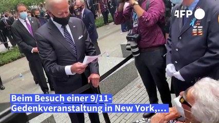 """Biden: """"Der Schmerz geht niemals weg"""""""