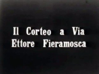 FILMATO STORICO ANDRIA 1913 - manifestazione dei braccianti in piazza
