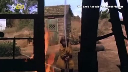 Check Out This Adorable Little Girl in Firefighter Uniform Performs Fire-Fighting Drill in Her Backyard!