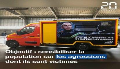 A Nantes, une campagne de sensibilisation contre les agressions de pompiers