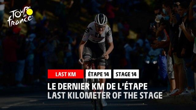 #TDF2020 - Étape 14 / Stage 14 - Flamme Rouge / Last Kilometer