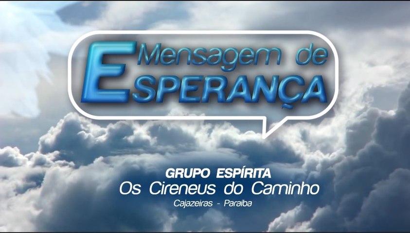 MENSAGEM DE ESPERANÇA - 11.09.2020