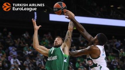 Zalgiris-Panathinaikos MVP: Joffrey Lauvergne, Zalgiris
