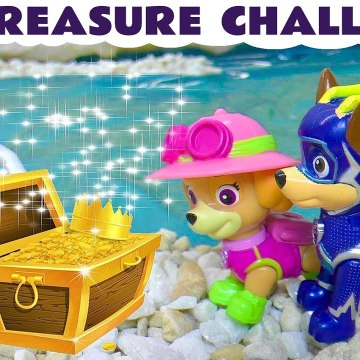Paw Patrol Mighty Pups Charged Up Treasure Challenge versus Explorer Funling from Funny Funlings in this Family Friendly Full Episode English Toy Story for Kids from a Kid Friendly Family Channel