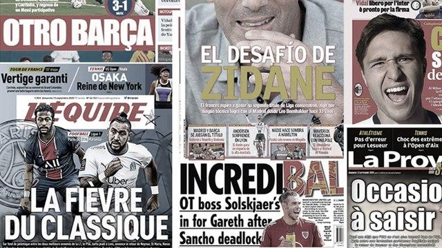 Le Real Madrid remercie Manchester United pour Gareth Bale, le grand défi de Zinédine Zidane