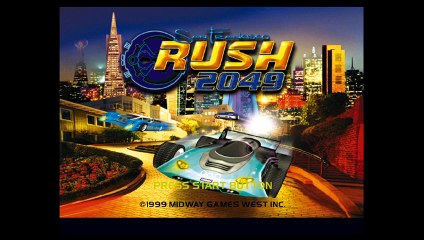 San Francisco Rush 2049 (1999) [DC] - RetroArch with Flycast