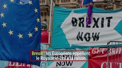 Brexit : les Européens appellent le Royaume-Uni à la raison