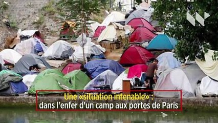 Une « situation intenable » : dans l'enfer d'un camp aux portes de Paris