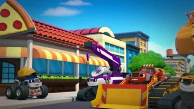 Blaze And The Monster Machines Season 4 Episode 13 Construction Crew To The Rescue