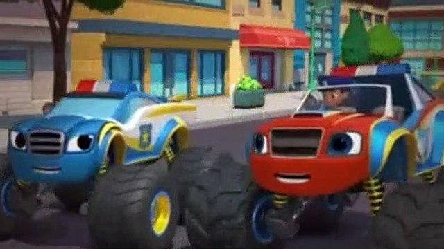 Blaze And The Monster Machines Season 4 Episode 14 Officer Blaze