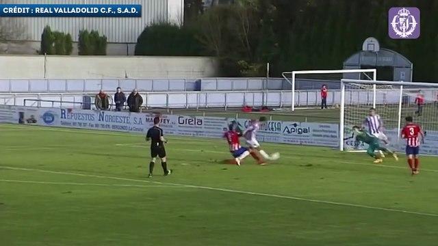 Les buts de Luis Suárez avec la réserve de Valladolid