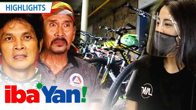 Gretchen Ho gives away bicycles for the members of Stunt Association of the Philippines | Iba 'Yan