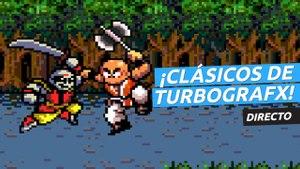 ¡Jugamos a clásicos de Turbografx en directo!