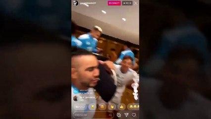 La joie des Marseillais après leur victoire face au PSG