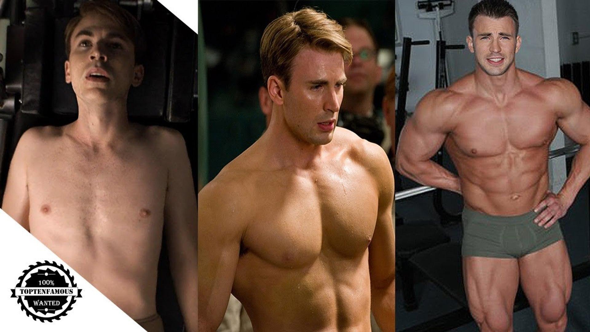 Evans naked chris OMG! Fans