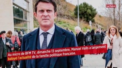 Valls raconte son « coup de génie » d'avoir recruté Macron dans son gouvernement