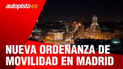 Nueva ordenanza de movilidad en Madrid: cambios importantes