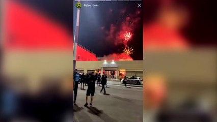 L'accueil incroyable des supporters de l'OM après la victoire contre le PSG