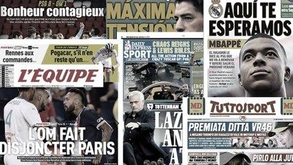 Les accusations de racisme de Neymar font le tour du monde , la presse madrilène tente de séduire Kylian Mbappé
