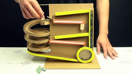 YP STUDIO - SPRAL MACHINE FROM CARDBOARD - Make Things From Cardboard