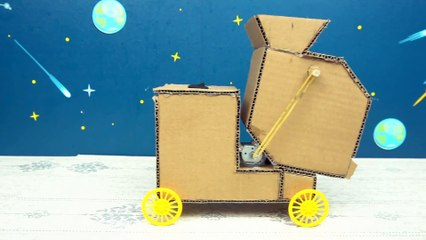 YP STUDIO - TRACTORS WITH FROM - Make Things From Cardboard