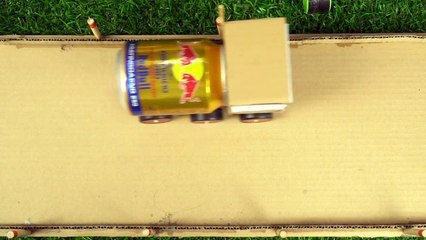 YP STUDIO - CAR REDBULL FROM CARDBOARD - Make Things From Cardboard