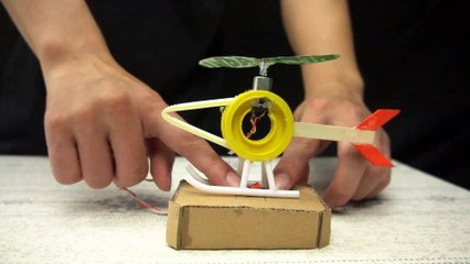 YP STUDIO - How to make a DIY Helicopter - Make Things From Cardboard