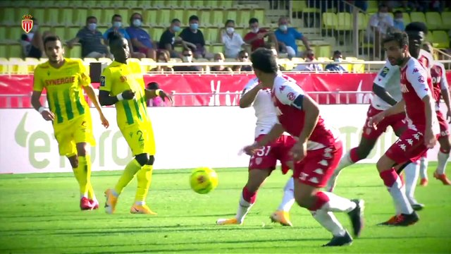 HIGHLIGHTS : AS Monaco 2-1 FC Nantes (DIOP, GEUBBELS)