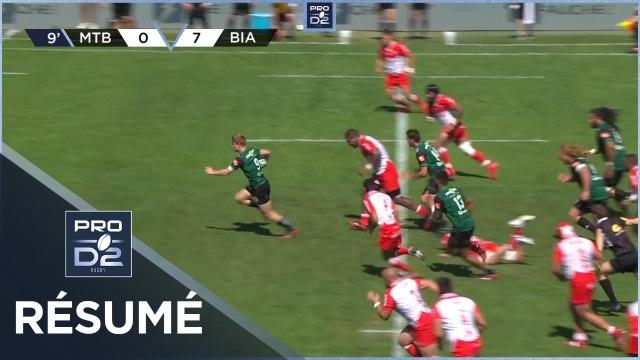 PRO D2 - Résumé US Montauban-Biarritz Olympique: 33-30 - J2- Saison 2020/2021