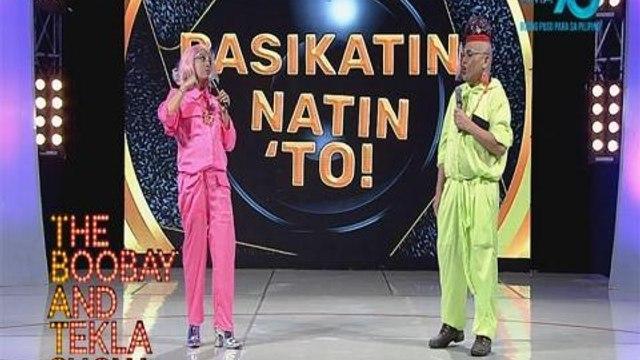 TBATS: Boobay at Tekla, tawang-tawa sa isang TikToker! | YouLOL