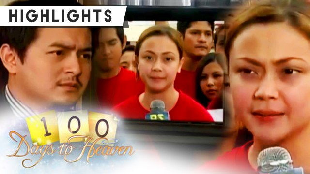 Sophia confesses the truth to the public | 100 Days To Heaven
