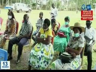 RTG / Haut-Ogooué : Rencontre entre les conseillers municipaux et départementaux initiée par la sénatrice de l'Ogooué Létili