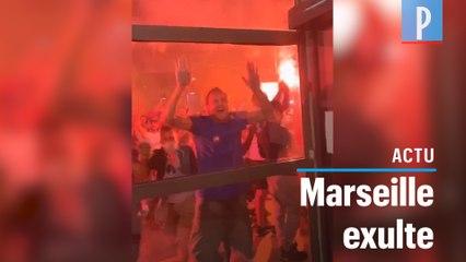 PSG-OM : feux d'artifice, fumigènes, rassemblements... les Marseillais savourent leur victoire