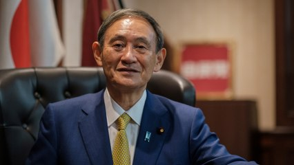 Yoshihide Suga set to become Japan's next prime minister after winning ruling party leadership