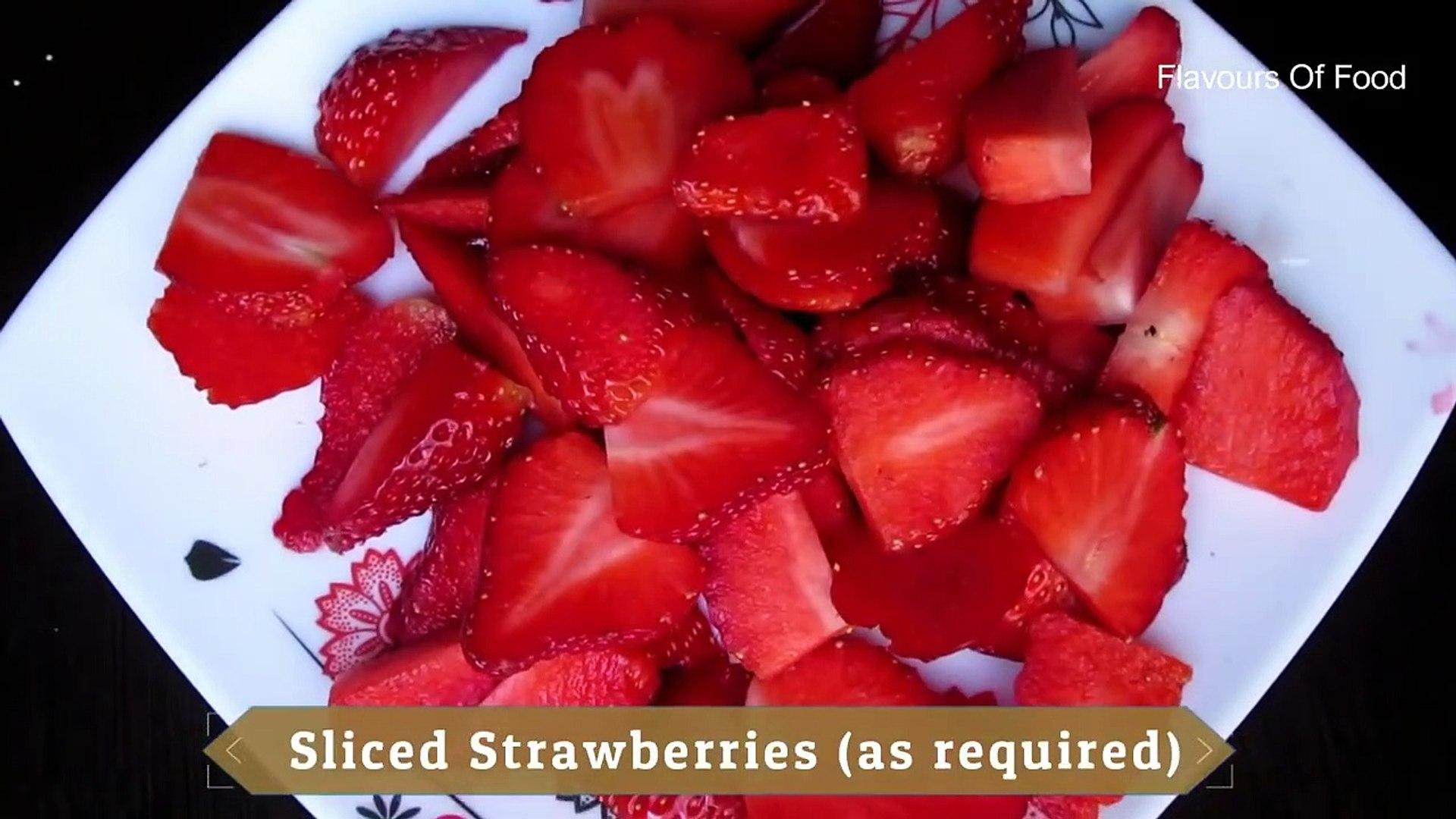 Strawberry Cake in Cooker - One Bowl Strawberry cake - easy cake recipe - eggless cake recipe