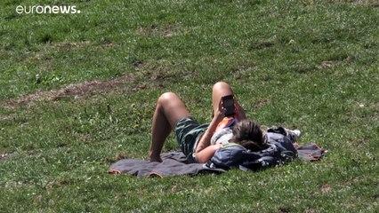 Vaga de calor atinge Alemanha e França