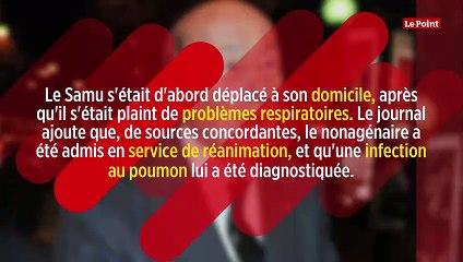 Valéry Giscard d'Estaing hospitalisé à Paris en réanimation