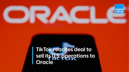 TikTok reaches deal to sell its U.S. operations to Oracle