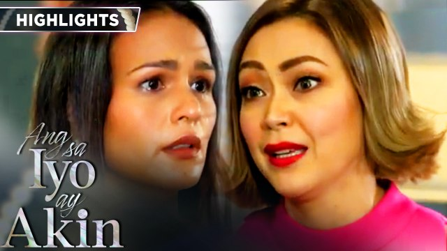 Marissa points out to Ellice all the sacrifices she had made for her | Ang Sa Iyo Ay Akin