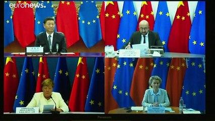 """Cimeira UE-China debate relação """"menos assimétrica"""""""