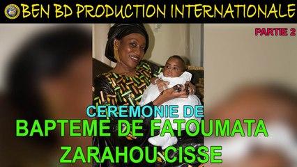 Ceremonie de Bapteme de Fatoumata Zarahou Cisse Partie 2