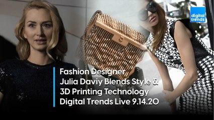 Fashion Designer Julia Daviy | Digital Trends Live 9.1420