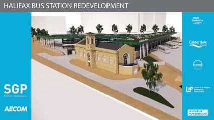 Virtual tour around the proposed Halifax bus station