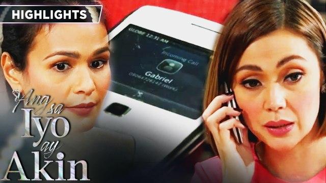 Ellice gets disturbed by Gabriel calling Ellice | Ang Sa Iyo Ay Akin