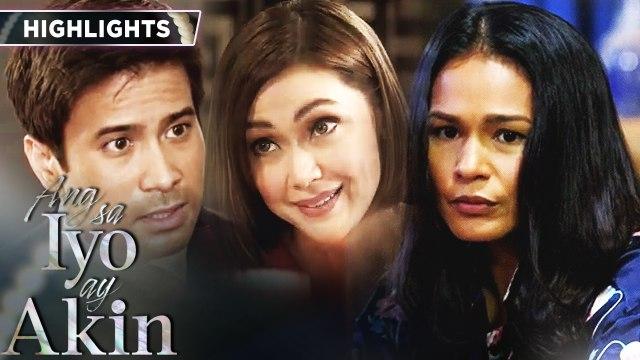 Ellice still doubts the true nature of Gabriel and Marissa's relationship | Ang Sa Iyo Ay Akin