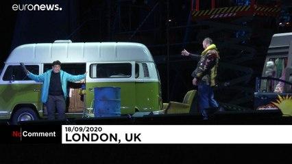 'La Bohème' de Puccini, estilo autocine, en Londres