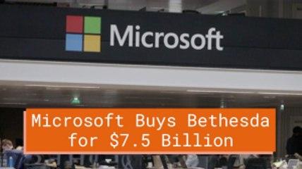 Microsoft Takes Bethesda