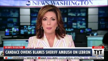 Candace Owens Blames LeBron James For Police Ambush
