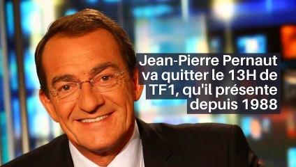 Jean-Pierre Pernaut va quitter le 13H de TF1, qu'il présente depuis 1988_IN