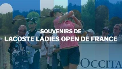 Souvenirs d'Open de France : Joanna Klatten